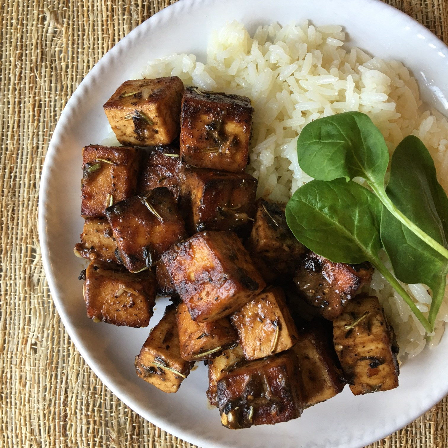 London Broil Marinated Tofu