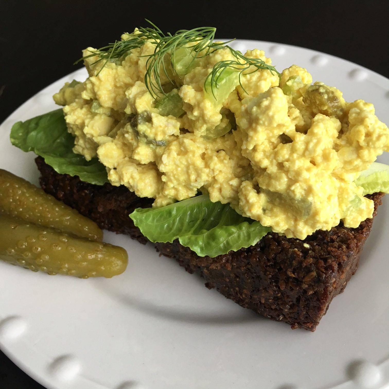 Tip Tofu Egg Salad Is Easy To Make And Adaptable To Anyone S Taste Include Dill Or Sweet Pickles Paprika Scallions And Or Celery